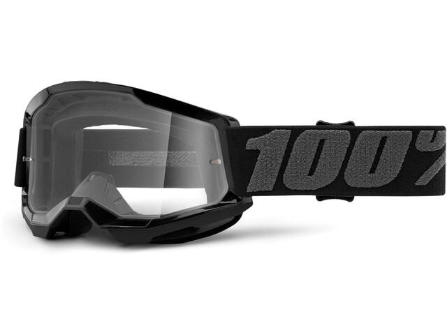100% Strata Anti-Fog Goggles Gen2 Youth, negro